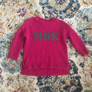 Zara Fancy Collections Girls Pink Sweater size 5